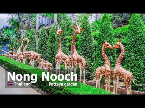 Nong Nooch Pattaya Garden 2019 Beautiful Park In Thailand Tour 4k