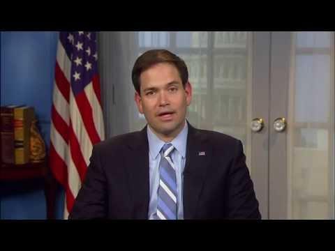 Jorge Ramos entrevista con el Senador Marco Rubio