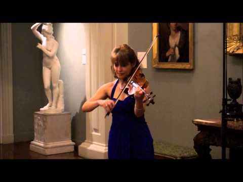 Irina Muresanu Performs Piazzolla - Tango Caprice no. 3