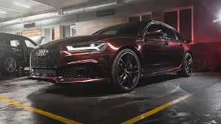 2017 Audi RS6 Plus 3M 1080 Black Rose
