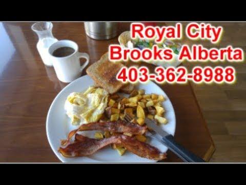 Restaurant Review Royal City, Brooks Alberta