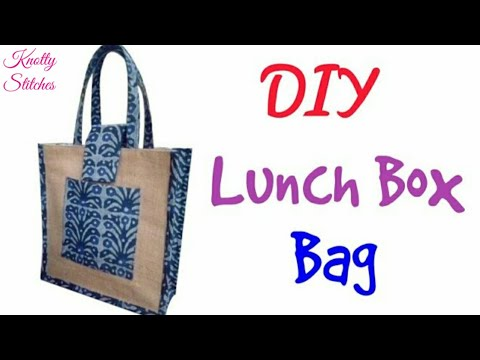 d28da875e44e How to make Lunch Bag at home   Step by Step tutorial in hindi - YouTube