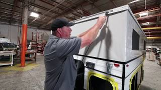 Four Wheel Campers'  Gas Strut Lift Assist