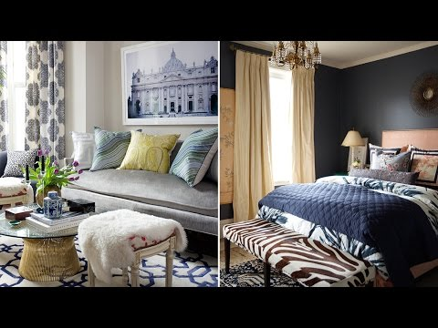Interior Design – How To Decorate With Color & Pattern In A Small Space