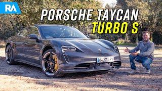 Porsche Taycan Turbo S (761 cv). Impossível descrever ESTE CARRO (c/ Nuno Agonia)