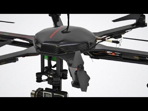Spirodash F560 FPV Hexacopter Frame for DJI E300 / E305