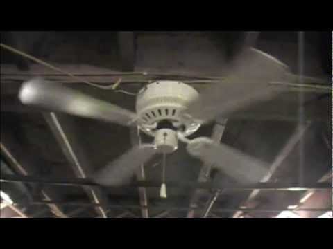 Hampton Bay Ceiling Fan Youtube