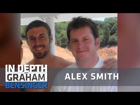 Alex Smith: Anger, regret after best friend's suicide