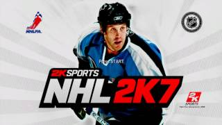 NHL 2K7 Title Screen (PS3, Xbox 360, PS2)