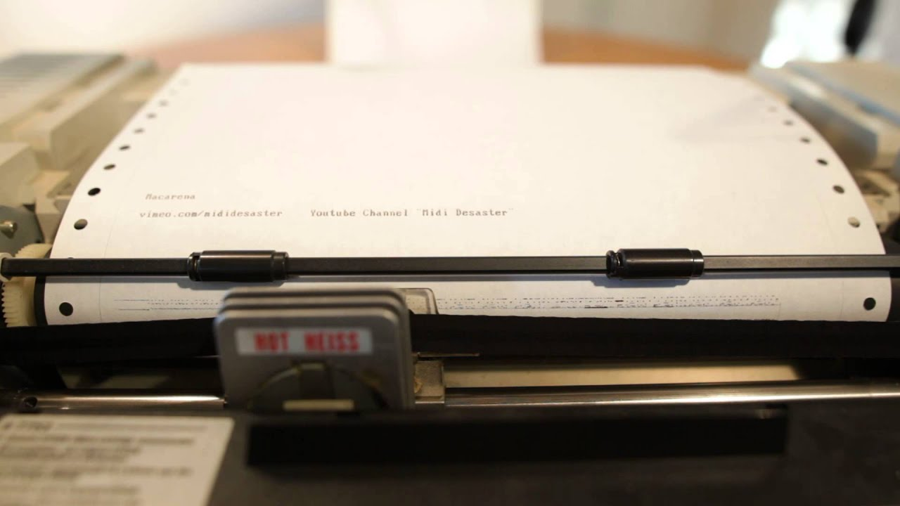 dot matrix report Hi, i need to create a report in ssrs for dotmatrix printer i need the report properties for the dotmatrix printer of 80 columns is there any difference in creating the report in laser and dot ma.