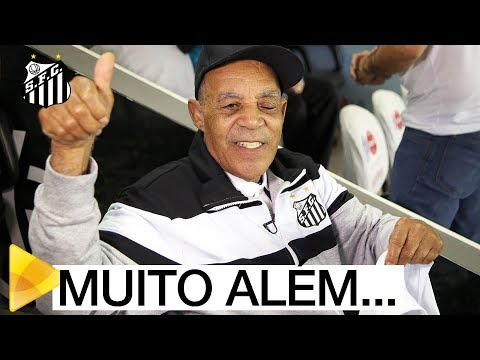 Seu João conhece a Vila Belmiro | #MUITOALÉMDOFUTEBOL
