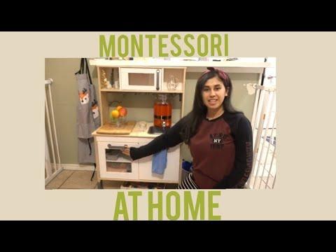 My Montessori Home Tour