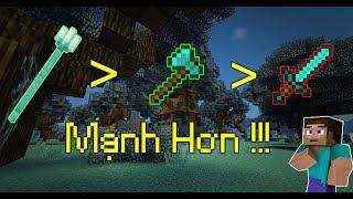 5 Điều Mà Bạn Đã Hoàn Toàn Hiểu Sai Về Minecraft - Vũ Khí Mạnh Nhất ??