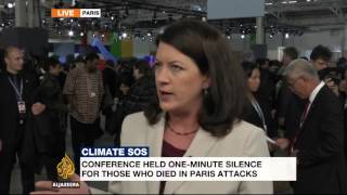 Global leaders push for climate deal in Paris
