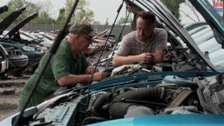 How To Scavenge A Junkyard Part 2 - Pulling Parts