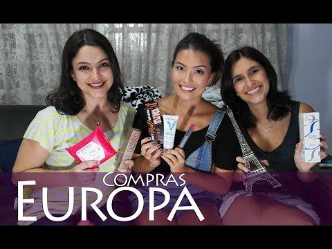 Compras das Amigas na Europa