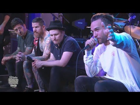 Fall Out Boy - KROQ HD Radio Sound Space - Interview