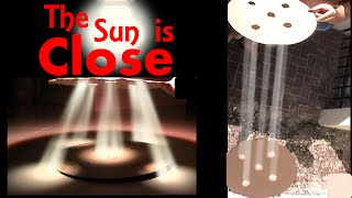 CREPUSCULAR SUN RAYS PROVE FLAT EARTH