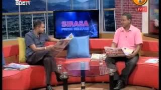 SIRASA PRESS RELEASE 2015-01-30