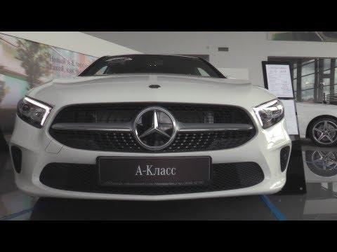 2018 Mercedes-Benz A 200. Обзор (интерьер, экстерьер, двигатель).