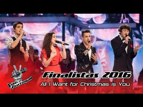 Finalistas – All I Want For Christmas Is You Mariah Carey  Gala Final  The Voice Portugal
