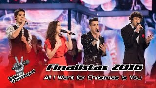 Finalistas - All I Want For Christmas Is You (Mariah Carey) | Gala Final | The Voice Portugal