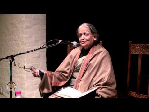 'WHY MIR SPEAKS TO ME' A TALK BY ZEHRA NIGAH PART 01-HINDUSTANI AWAAZ TALK SERIES