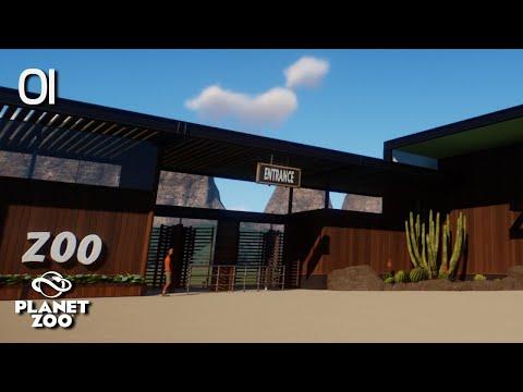 Planet Zoo | Oak Creek Zoo 🦓 | Ep.1 Park Entrance