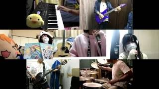[HD]Love Live! Sunshine!! ED [Yume Kataru yori Yume Utaou] Band cover