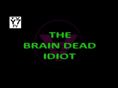 """The Brain Dead Idiot"" - FAKE Episode Title Card (Evil Con Carne Style)"
