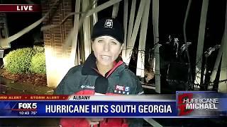 Hurricane hits South Georgia