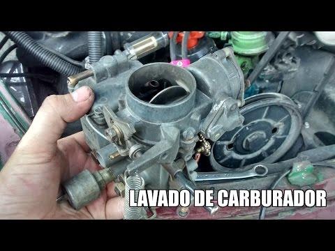 Lavado de carburador de vocho Parte 1: Desarmado y limpieza