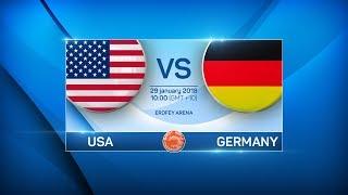 BANDY WORLD CHAMPIONSHIP 2018. USA - GERMANY