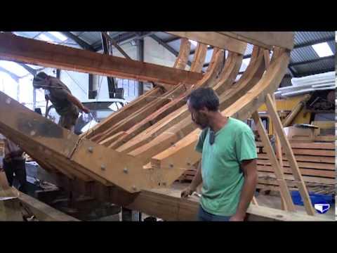 Framing up (large vessels)
