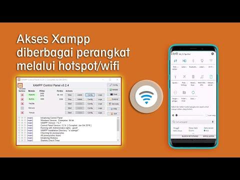 Cara Mengakses XAMPP di Smartphone atau PC lain dengan Wifi atau Lan.