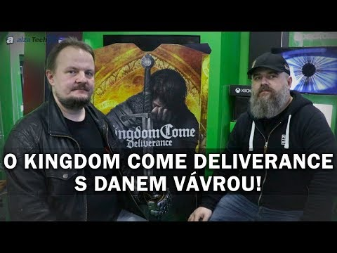 Rozhovor: S Danielem Vávrou o Kingdom Come: Deliverance! - AlzaTech #695