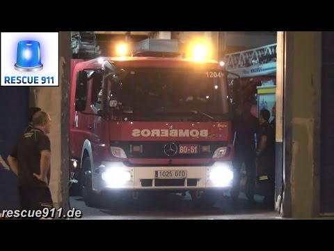 Madrid fire department // Bomba BO-51 Bomberos Madrid Parque 5