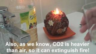 How to make CO2 (Carbon Dioxide) using Baking Soda and Vinegar