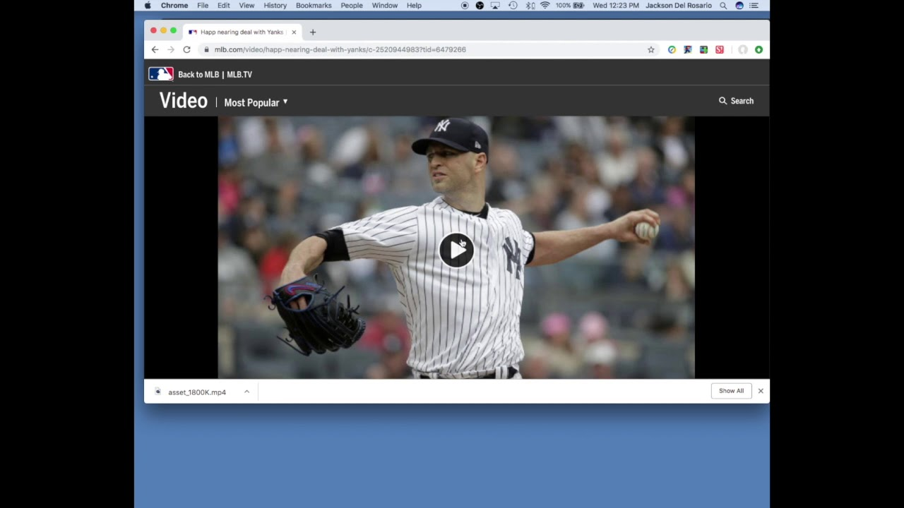 How to download videos off MLB com without Apps or Third-Party Websites |  2019