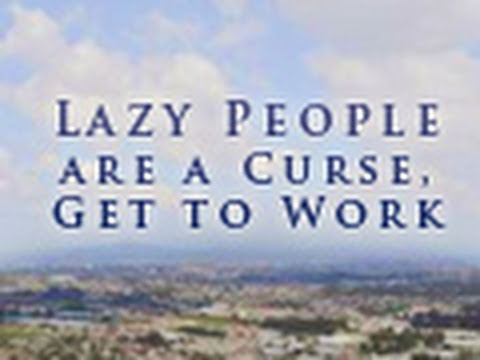 lazy people are a curse get to work tim conway youtube