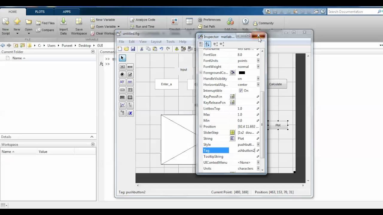GUI (Graphical User Interface) in MATLAB vs SCILAB for Beginners
