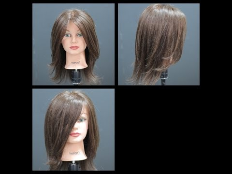 Long Length Layers Haircut Tutorial