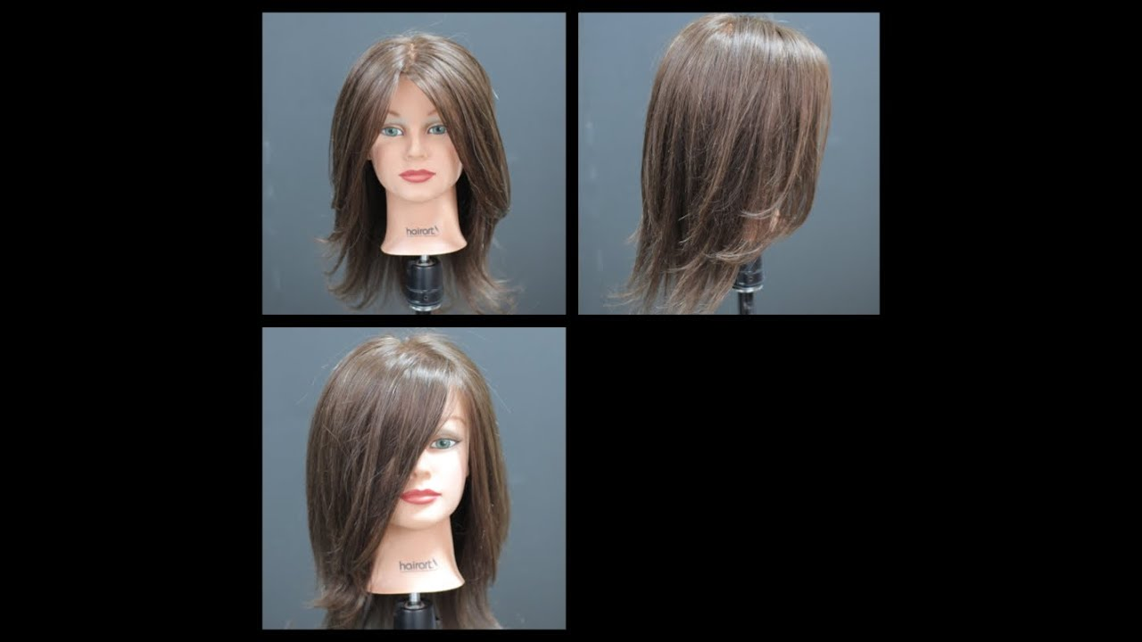 Haircut Tutorial Long Length Layers Youtube