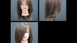 Haircut Tutorial - Long Length Layers