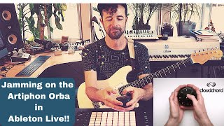 Jamming on the Artiphon Orba inside Ableton Live!