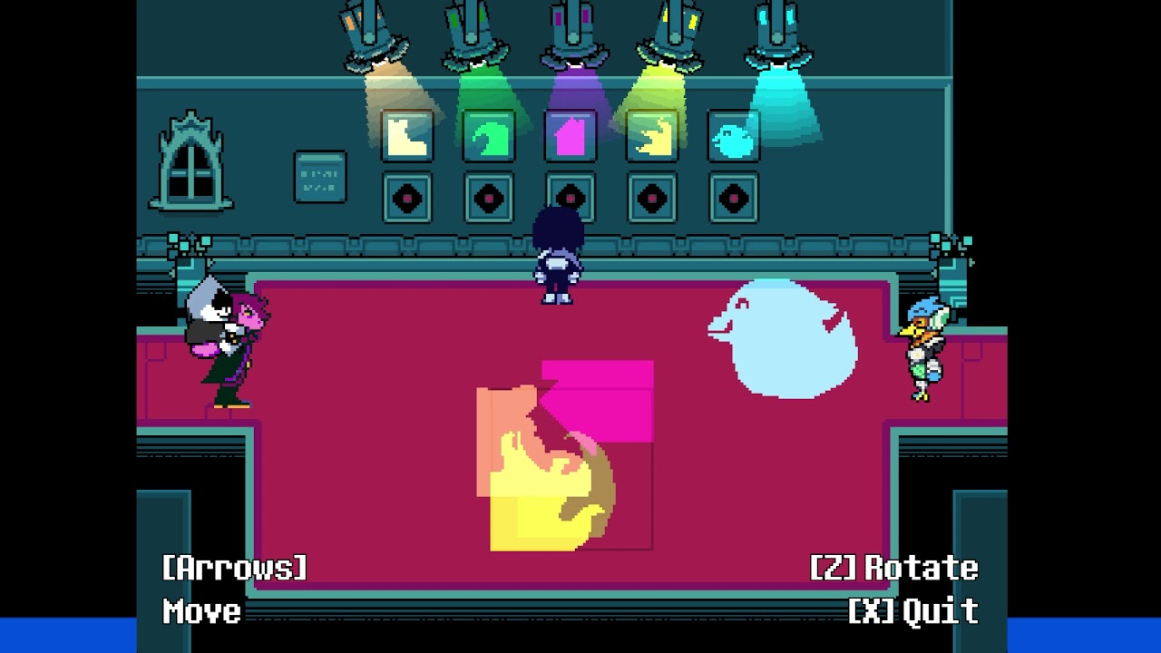 Deltarune Chapter 2: How to Solve Queen's Mansion Light Puzzle