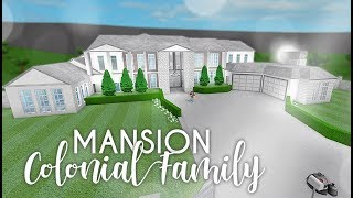 Roblox | Bloxburg | Colonial Family Mansion