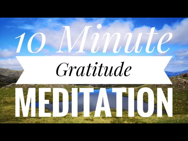 Gratitude Meditation to help you see potential in your day