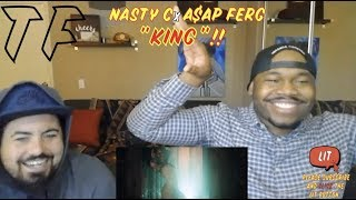 Nasty C's NEXT UP | Nasty C - King ft. A$AP Ferg | TF Reaction