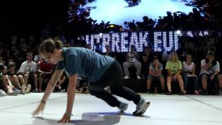 Outbreak Europe 2015 1vs1 Bgirl Top 8 | Bene (France) vs Jilou (Germany)